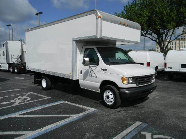 2003 Ford E-Series Cargo for sale at Longwood Truck Center Inc in Sanford FL