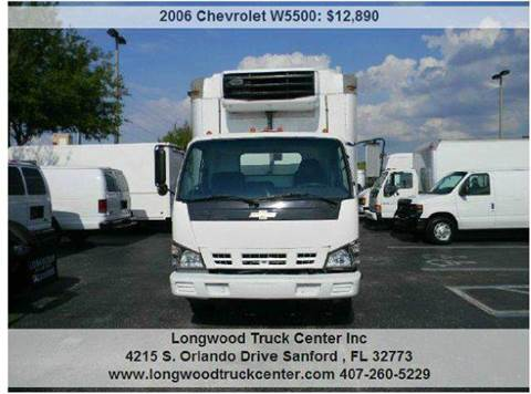 2006 Chevrolet W5500 for sale at Longwood Truck Center Inc in Sanford FL