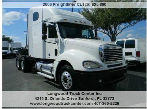 2006 Freightliner CL120 for sale at Longwood Truck Center Inc in Sanford FL