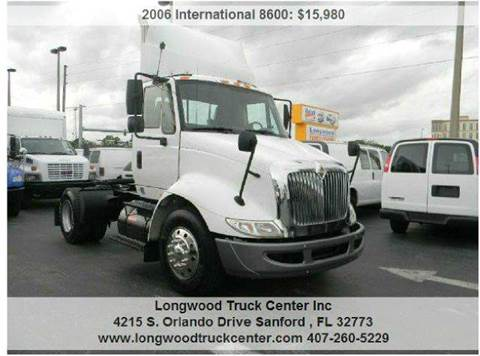 2006 International 8600 for sale at Longwood Truck Center Inc in Sanford FL