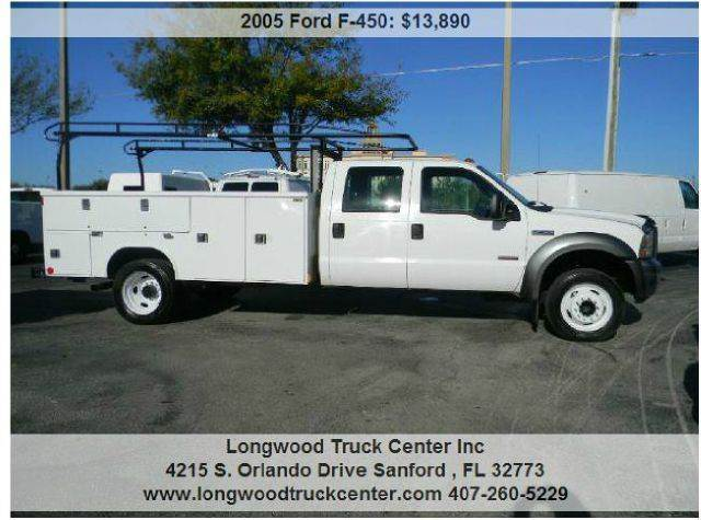 2005 Ford F-450 for sale at Longwood Truck Center Inc in Sanford FL