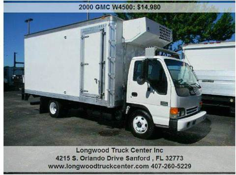 2000 GMC W4500 for sale at Longwood Truck Center Inc in Sanford FL