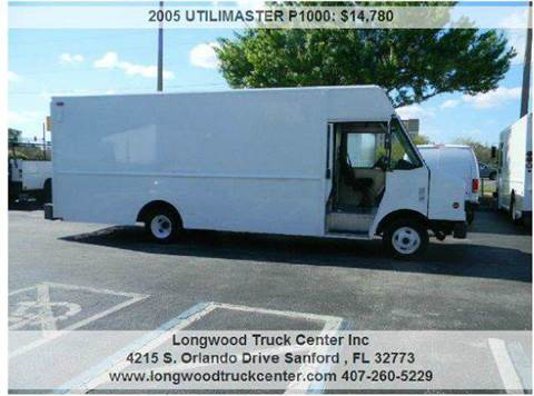 2005 Utilimaster P1000 for sale at Longwood Truck Center Inc in Sanford FL