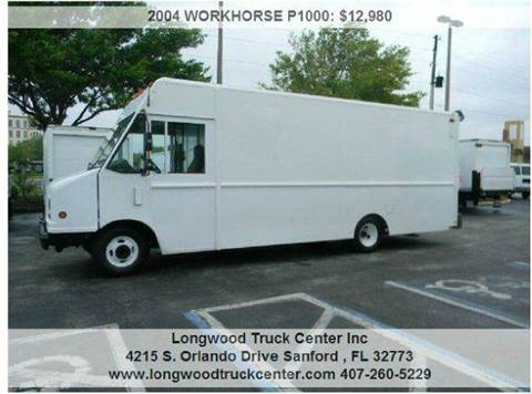 2004 Workhorse P1000 for sale at Longwood Truck Center Inc in Sanford FL