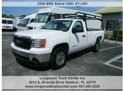 2008 GMC Sierra 1500 for sale at Longwood Truck Center Inc in Sanford FL