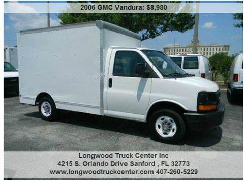2006 GMC Vandura for sale at Longwood Truck Center Inc in Sanford FL