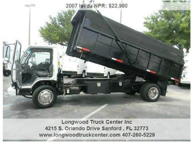 2007 Isuzu NPR for sale at Longwood Truck Center Inc in Sanford FL