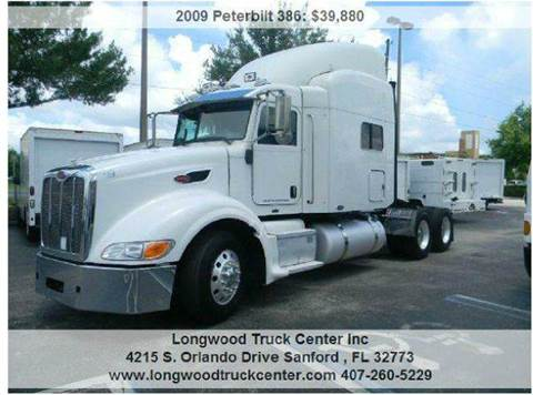 2009 Peterbilt 386 for sale at Longwood Truck Center Inc in Sanford FL