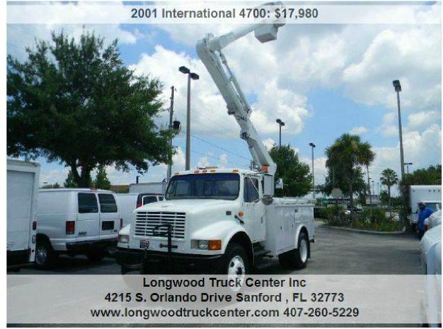 2001 International 4700 for sale at Longwood Truck Center Inc in Sanford FL