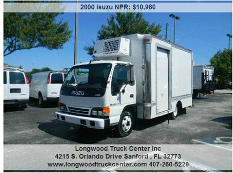2000 Isuzu NPR for sale at Longwood Truck Center Inc in Sanford FL