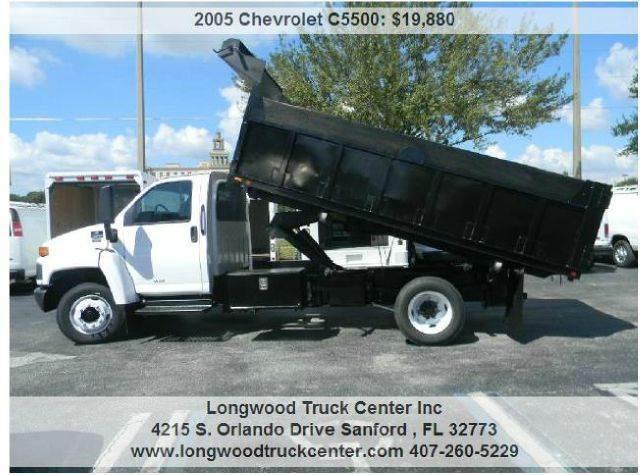 2005 Chevrolet C5500 for sale at Longwood Truck Center Inc in Sanford FL