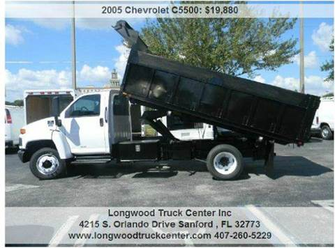 2005 Chevrolet C5500 for sale at Longwood Truck Center Inc in Sanford FL