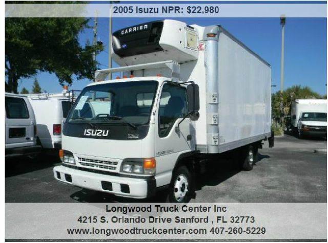 2005 Isuzu NPR for sale at Longwood Truck Center Inc in Sanford FL