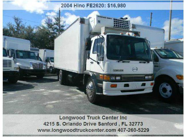 2004 Hino FE2620 for sale at Longwood Truck Center Inc in Sanford FL