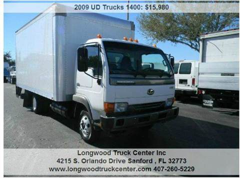 2009 UD Trucks 1400 for sale at Longwood Truck Center Inc in Sanford FL