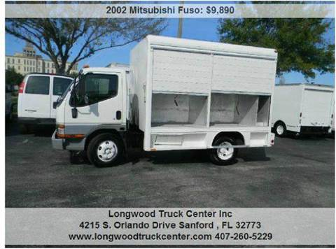 2002 Mitsubishi Fuso for sale at Longwood Truck Center Inc in Sanford FL