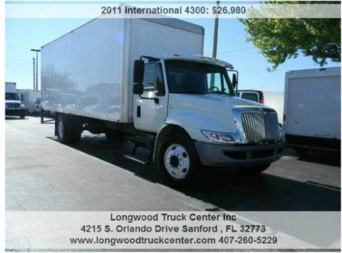 2011 International 4300 for sale at Longwood Truck Center Inc in Sanford FL
