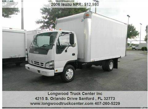 2006 Isuzu NPR for sale at Longwood Truck Center Inc in Sanford FL