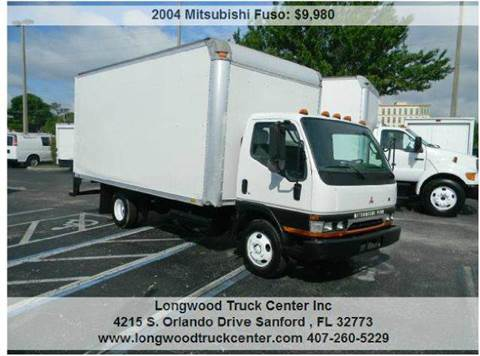 2004 Mitsubishi Fuso for sale at Longwood Truck Center Inc in Sanford FL