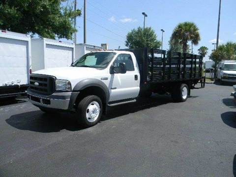 2005 Ford F550 for sale at Longwood Truck Center Inc in Sanford FL