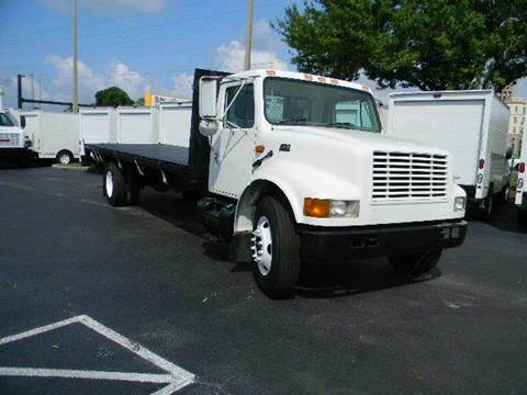 2001 International 4700 for sale at Longwood Truck Center Inc in Sanford FL
