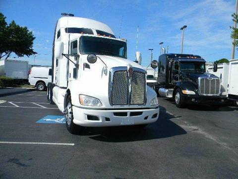 2012 Kenworth T600 for sale at Longwood Truck Center Inc in Sanford FL