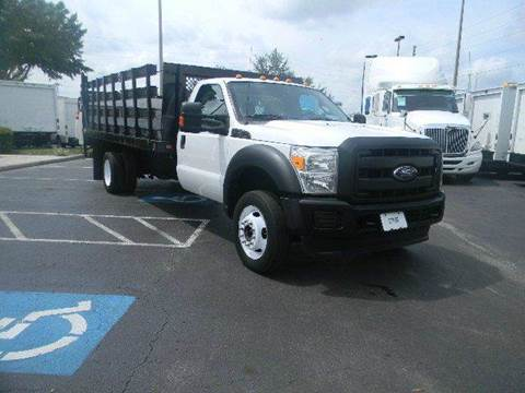 2011 Ford F-450 Super Duty for sale at Longwood Truck Center Inc in Sanford FL