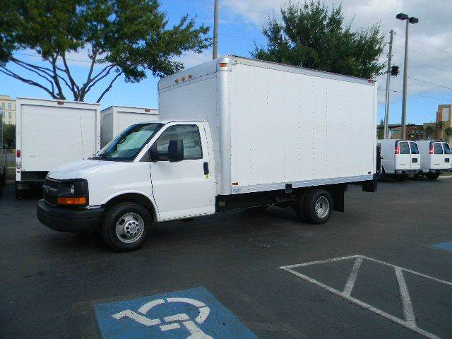 2014 Chevrolet Express Cutaway for sale at Longwood Truck Center Inc in Sanford FL