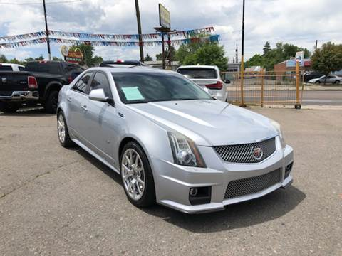 2009 Cadillac CTS-V for sale at Lion's Auto INC in Denver CO