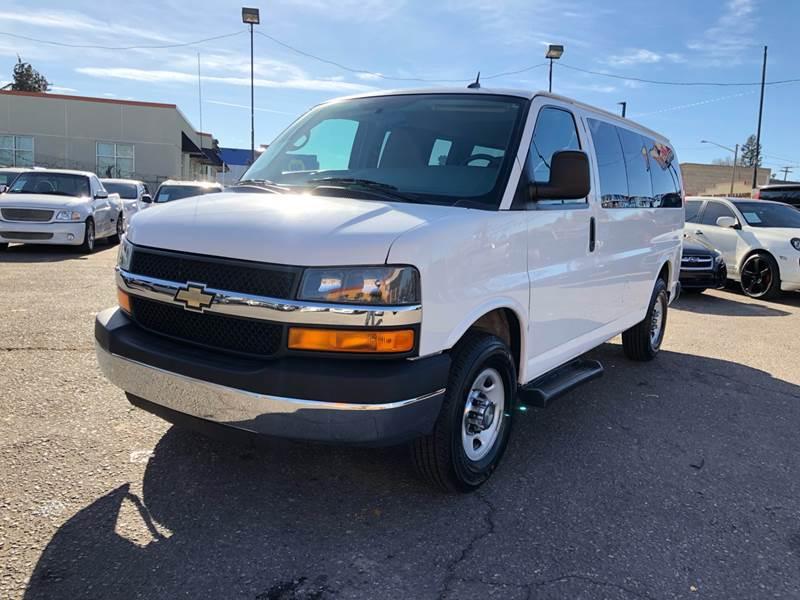9baf8e833d0834 2015 Chevrolet Express Passenger LT 2500 3dr Passenger Van In Denver ...