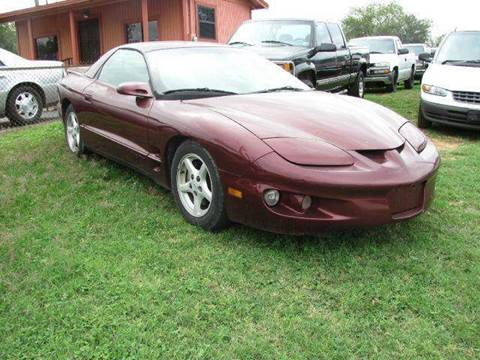 2001 Pontiac Firebird for sale in Stockdale, TX