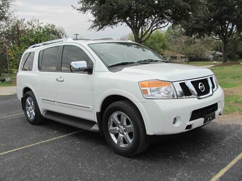 2013 Nissan Armada for sale at Rons Auto Sales in Stockdale TX