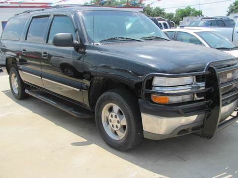 2001 Chevrolet Suburban for sale at Rons Auto Sales in Stockdale TX