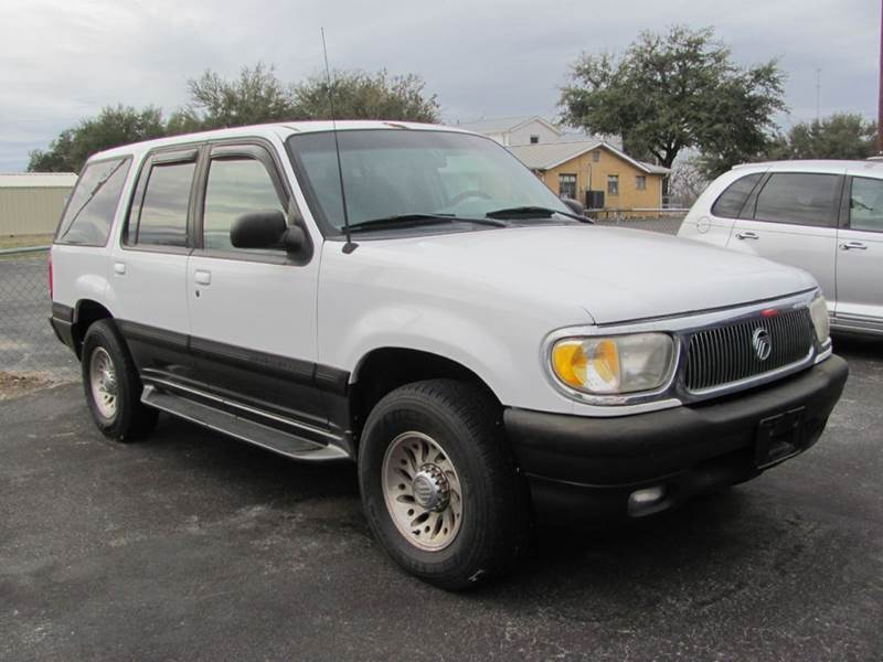 1998 Mercury Mountaineer for sale at Rons Auto Sales in Stockdale TX