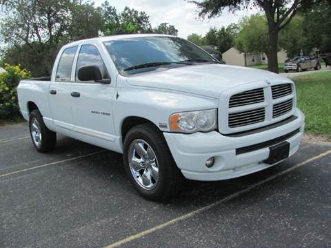 2005 Dodge Ram Pickup 1500 for sale at Rons Auto Sales in Stockdale TX