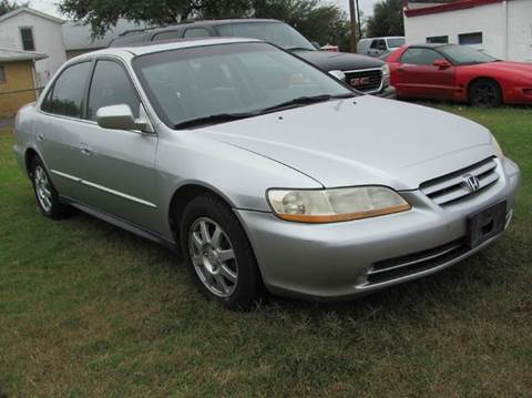 2002 Honda Accord for sale at Rons Auto Sales in Stockdale TX