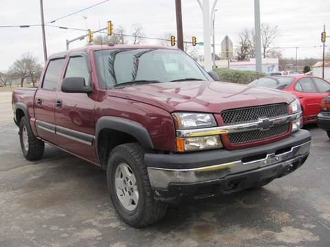2004 Chevrolet Silverado 1500 for sale at Rons Auto Sales in Stockdale TX