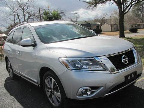 2015 Nissan Pathfinder for sale at Rons Auto Sales in Stockdale TX