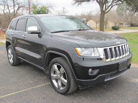 2012 Jeep Grand Cherokee for sale at Rons Auto Sales in Stockdale TX