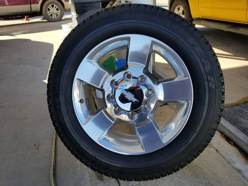 Goodyear LT265/60/R20 for sale at Rons Auto Sales in Stockdale TX
