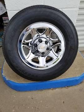Bridgestone 255/70/R17 for sale at Rons Auto Sales in Stockdale TX