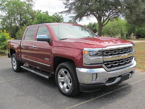 2017 Chevrolet Silverado 1500 for sale at Rons Auto Sales in Stockdale TX