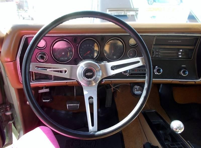 1970 Chevrolet Chevelle SS In Riverside NJ - C & C AUTO SALES
