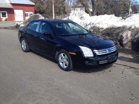 2007 Ford Fusion for sale at CENTRAL AUTO SALES LLC in Norwich NY