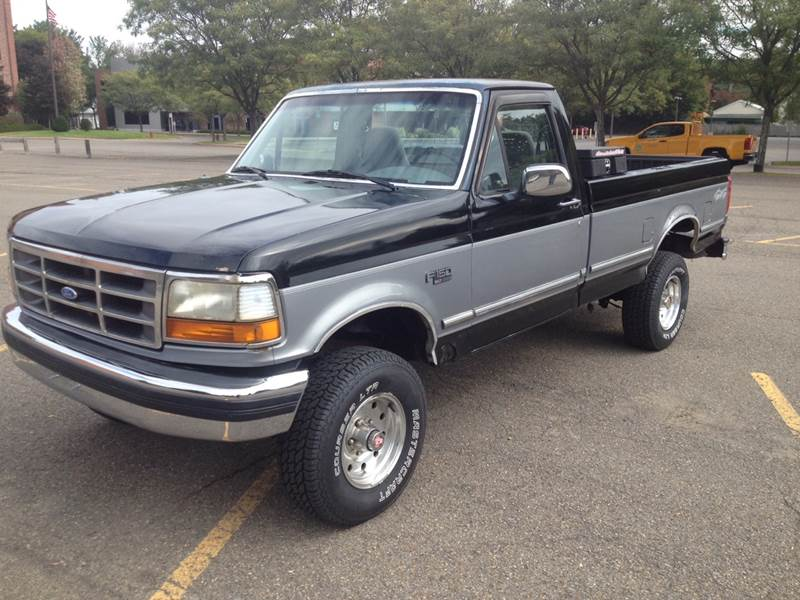 1994 Ford F 150 2dr Xlt 4wd Standard Cab Lb In Norwich Ny Central