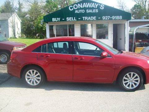 2010 Chrysler Sebring for sale at Conaway's Auto Sales in Pataskala OH