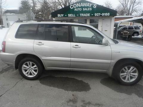 2007 Toyota Highlander Hybrid for sale at Conaway's Auto Sales in Pataskala OH