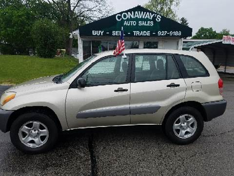 2003 Toyota RAV4 for sale at Conaway's Auto Sales in Pataskala OH