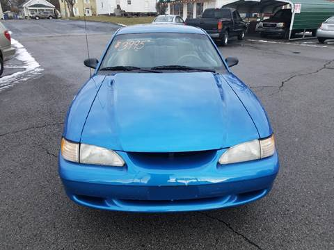 1998 Ford Mustang for sale at Conaway's Auto Sales in Pataskala OH