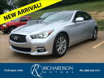 2014 Infiniti Q50 for sale in Dubuque, IA